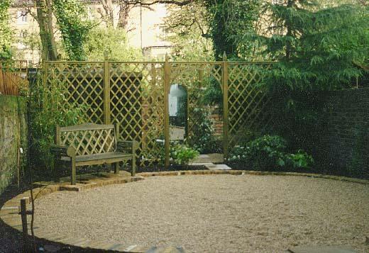Gardens by Design Trellis Fencing
